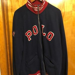 Ralph Lauren Polo men's zip up jacket